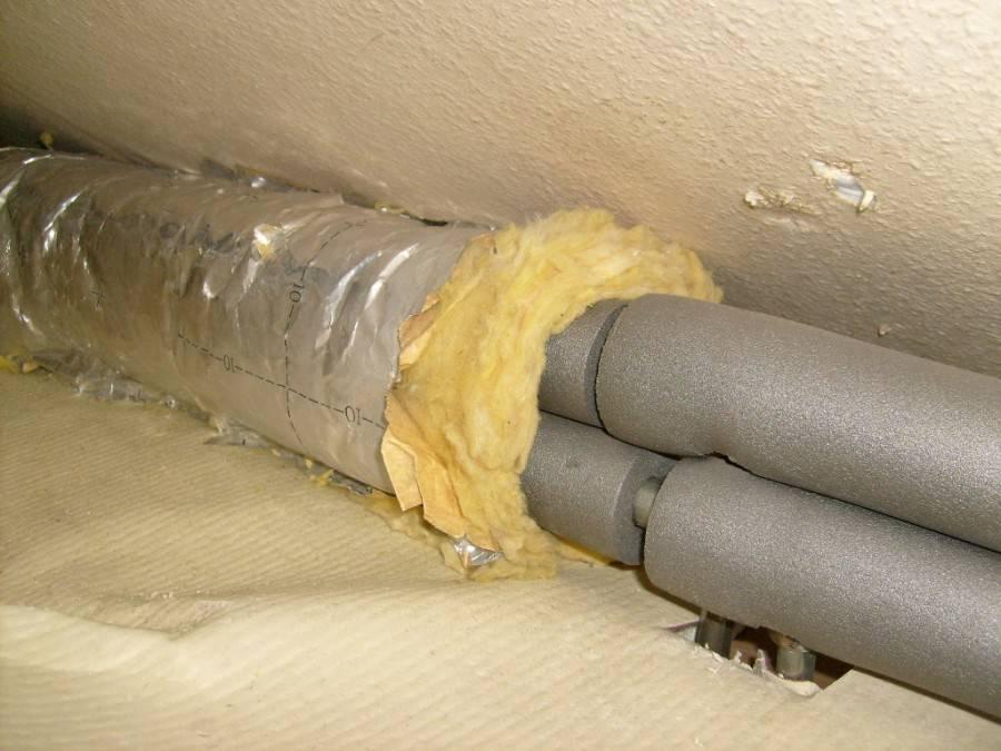 Утепление канализационной трубы в частном доме: инструкция