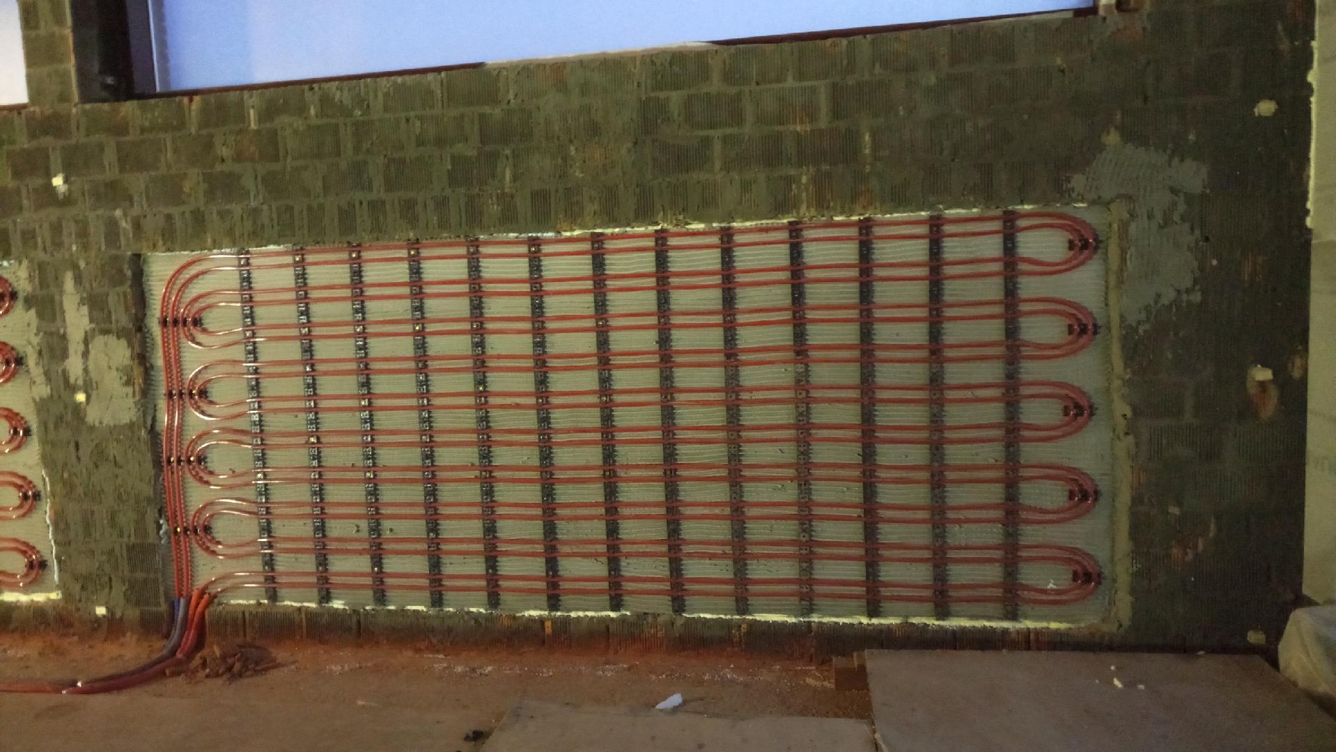 Теплые стены: как организовать подобное отопление, водяные системы обогрева