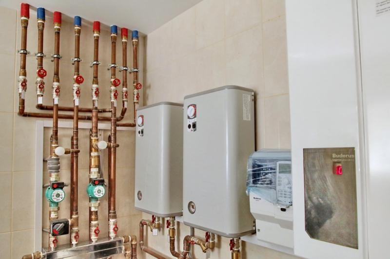 Теплые полы газовые как подключить водяной котел по схеме