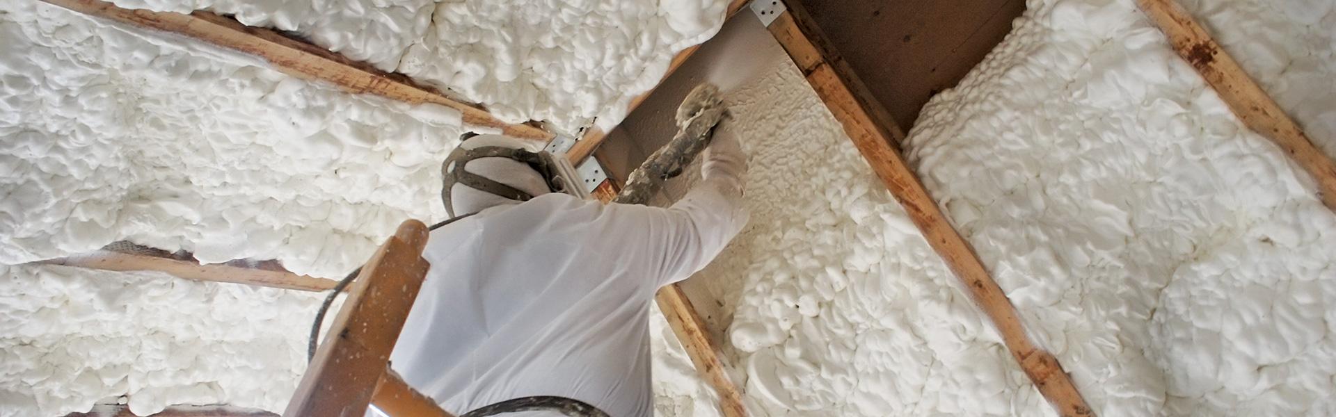 Внешнее и внутреннее утепление стен пенополиуретаном: виды ппу утеплителя и технология его нанесения