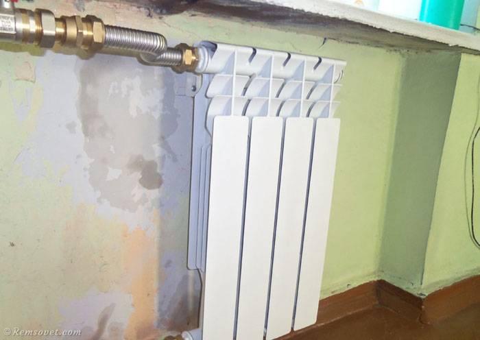 Установка радиатора отопления своими руками - все о канализации