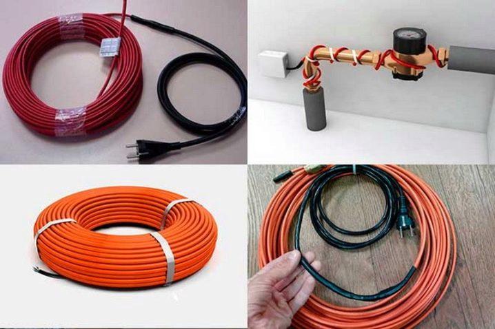 Как укладывают греющий кабель для водопровода внутри трубы и какой для этого подходит лучше