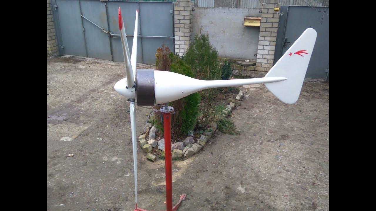 Как изготовить ветрогенератор из автомобильного генератора