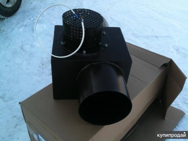 Дымосос для твердотопливного котла: устройство и виды