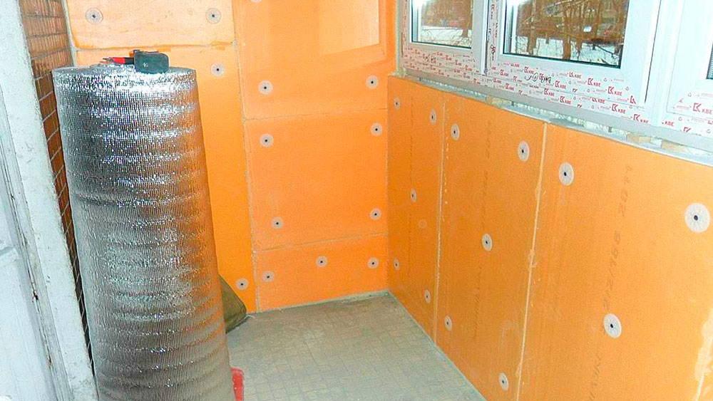 Качественное утепление балкона пенопластом: 5 достоинств материала
