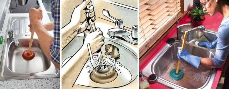 5 простых решений, как прочистить засор в ванной самостоятельно