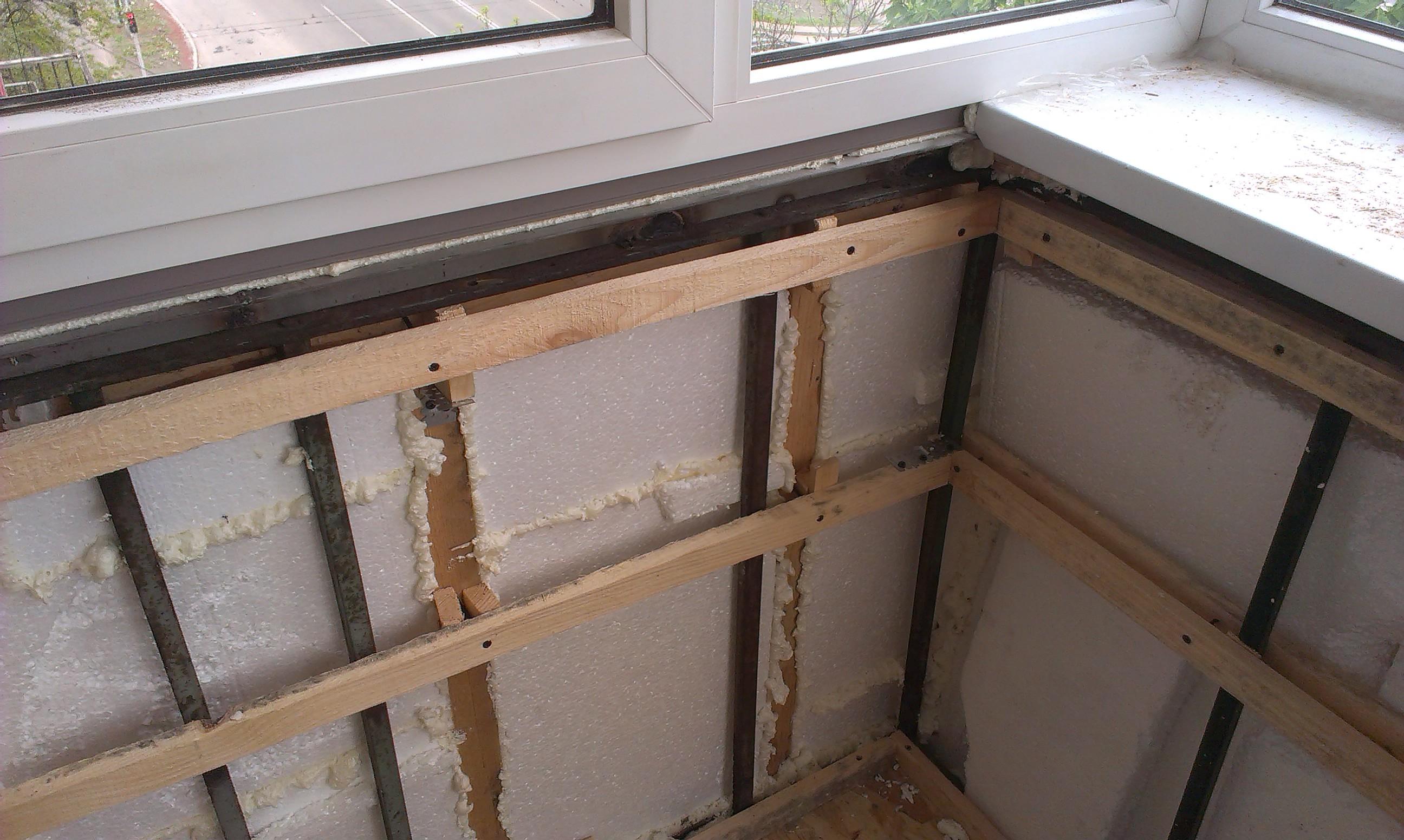 Пошаговая инструкция по утеплению балкона своими руками