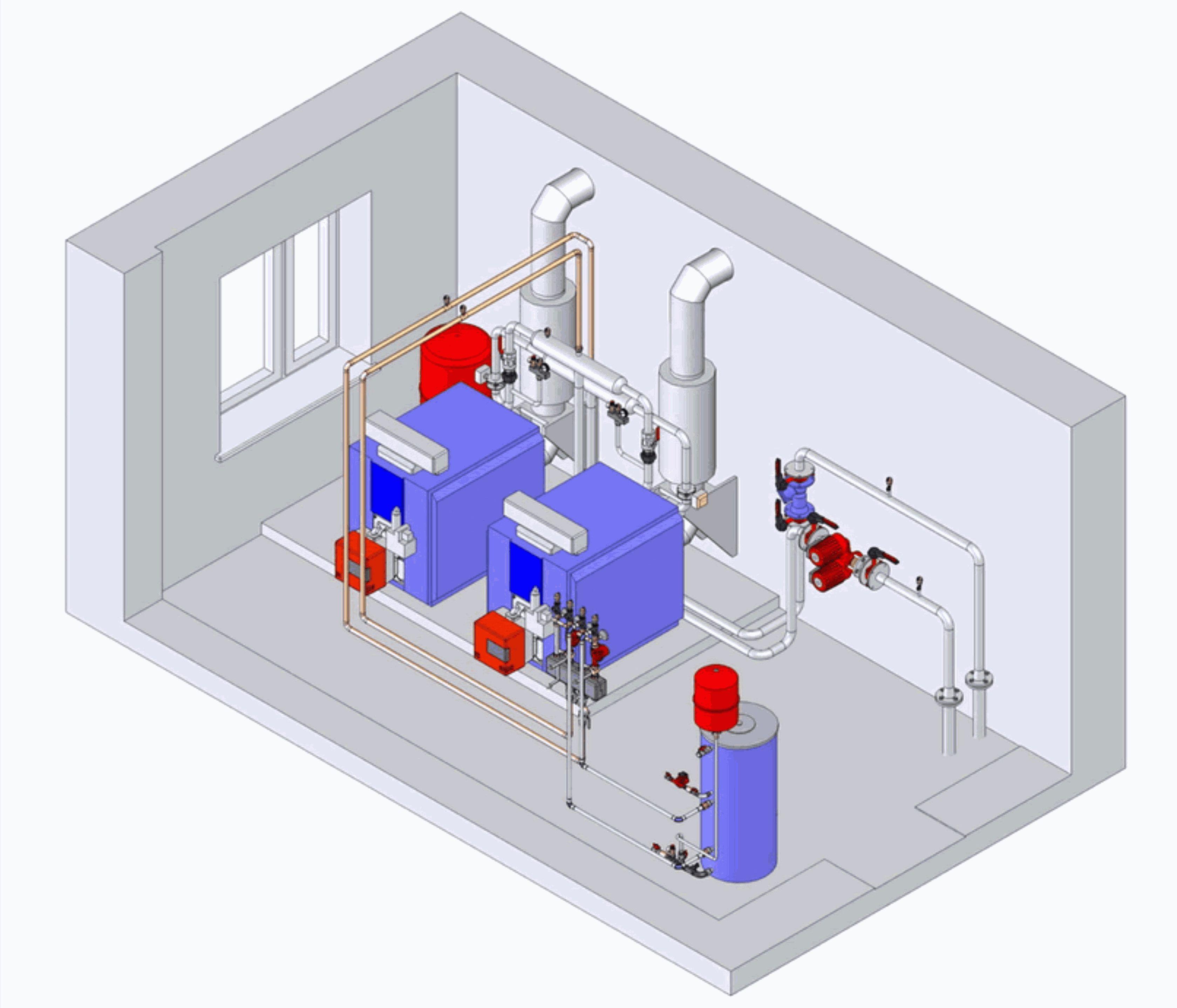 Нормативы для установки газового котла