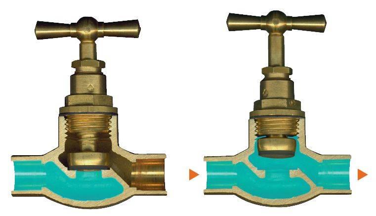 Водопроводный кран: назначение, разновидности, особенности