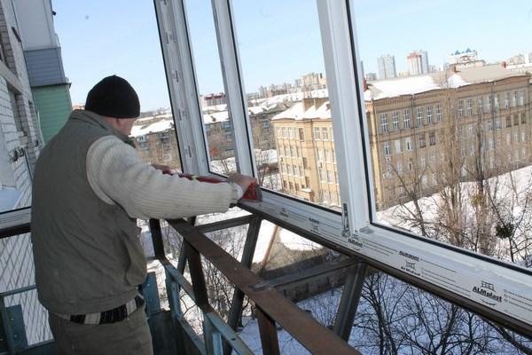 Утепление французского балкона