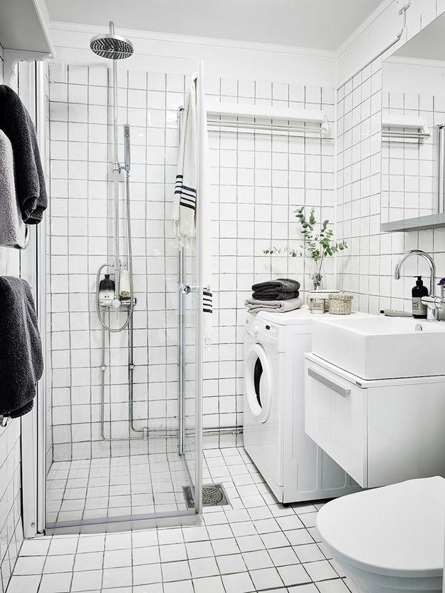 Ванная комната в скандинавском стиле (60 фото): дизайн интерьера, идеи для ремонта