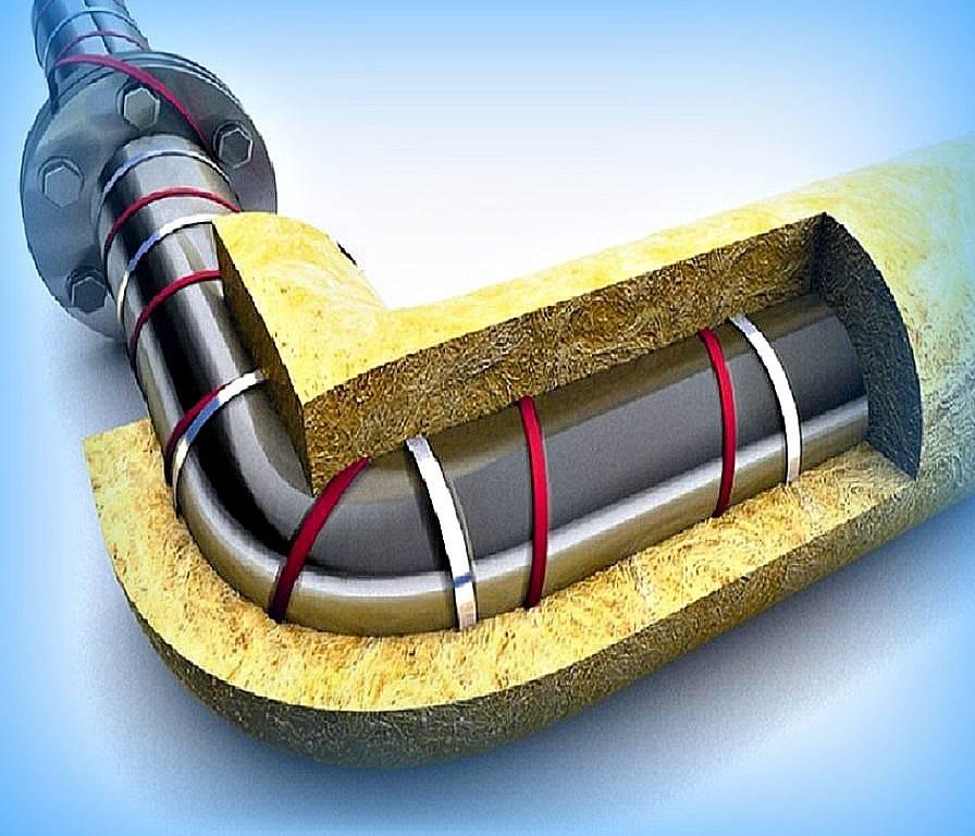 Как утеплить водопроводную трубу на улице