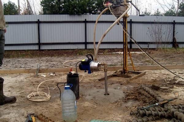Как сделать скважину для воды на даче