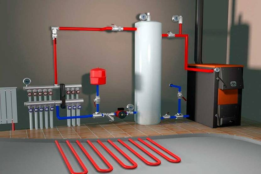 Миф или современная реальность: отопление частного дома без газа и электричества?