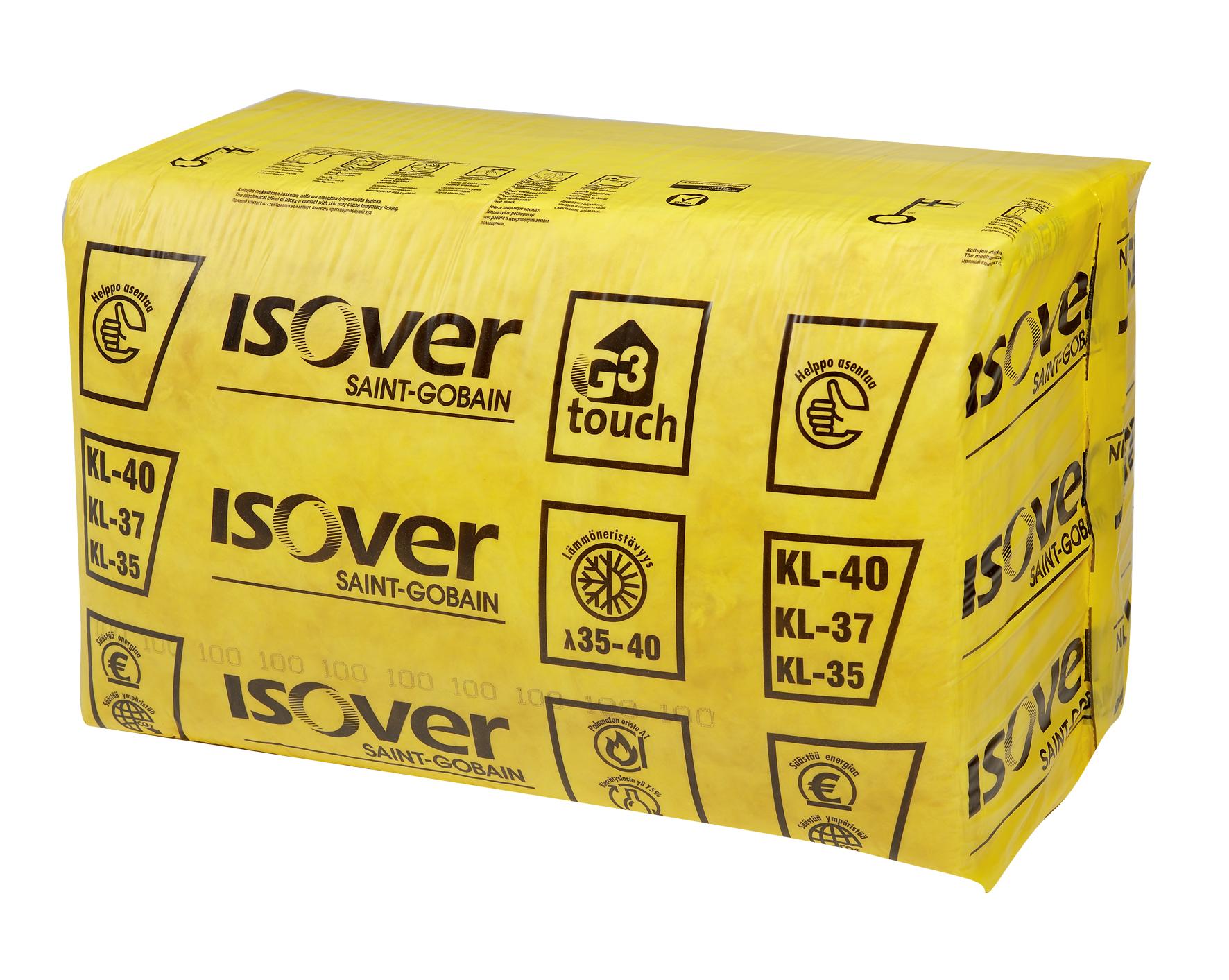 Технические характеристики минеральной ваты isover, толщиной 50 мм