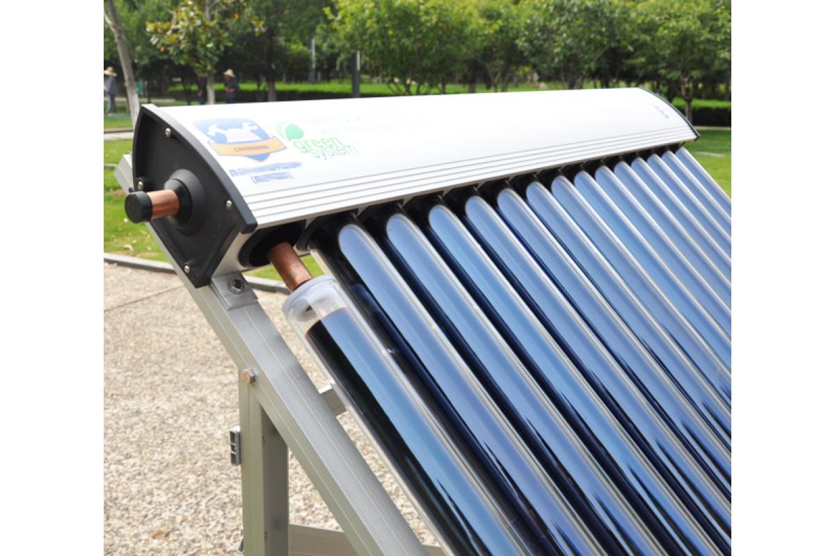 Вакуумный солнечный коллектор для отопления дома зимой: эффективность, особенности, мифы и правда