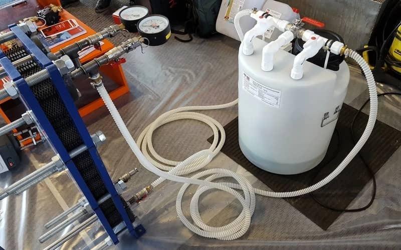 Как промыть теплообменник газового котла своими руками: промывка от накипи, как почистить, очистка, как очистить