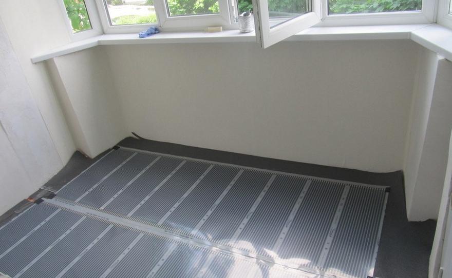 Теплый пол на балконе своими руками: монтаж инфракрасных матов под мягкие напольные покрытия