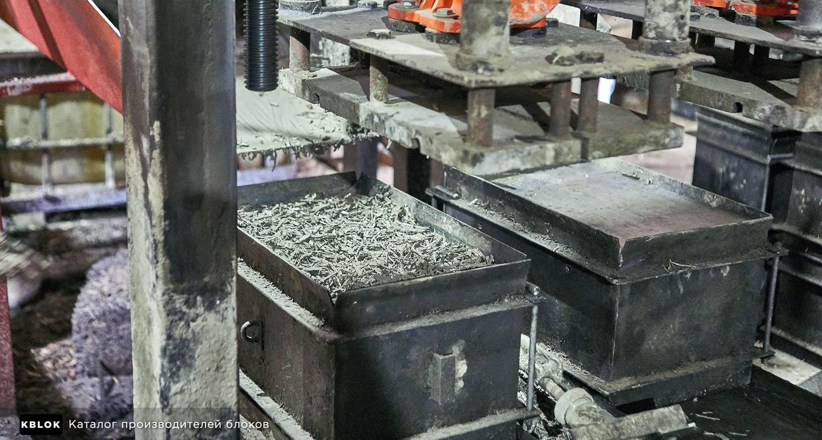 Бизнес план для производства арболитовых блоков — оснащение цеха и оборудование