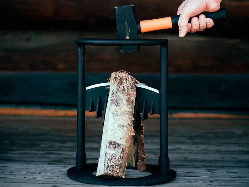 Какой колун выбрать для колки дров   виды колунов для колки дров