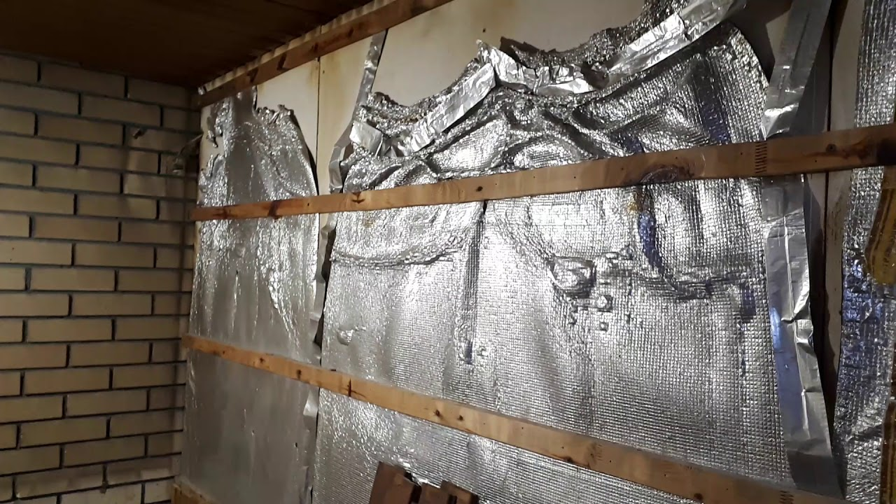 Использование для утепления потолка отражающей теплоизоляции