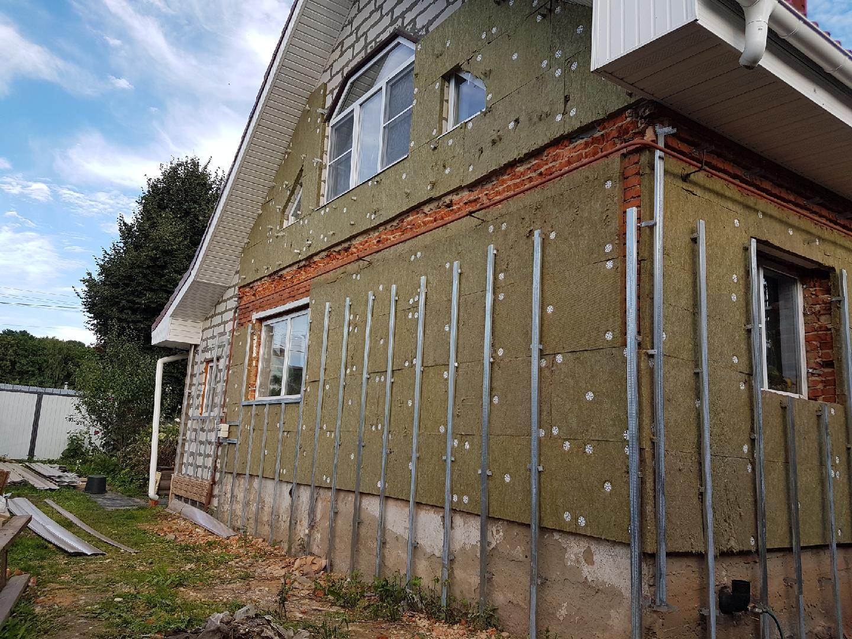 Утепление дома снаружи: фото, видео, технологии утепления фасадов