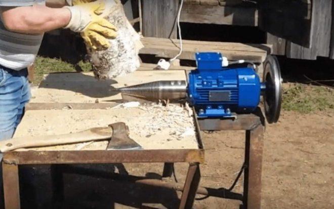 Дровокол своими руками: как облегчить заготовку и колку дров