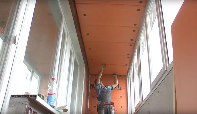 Как утеплить балкон в панельном доме?
