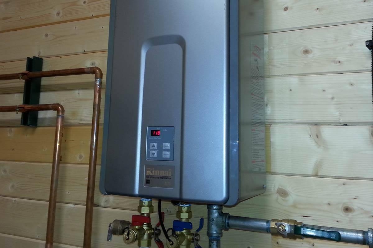 Двухконтурный электрический котел для водоснабжения и отопления