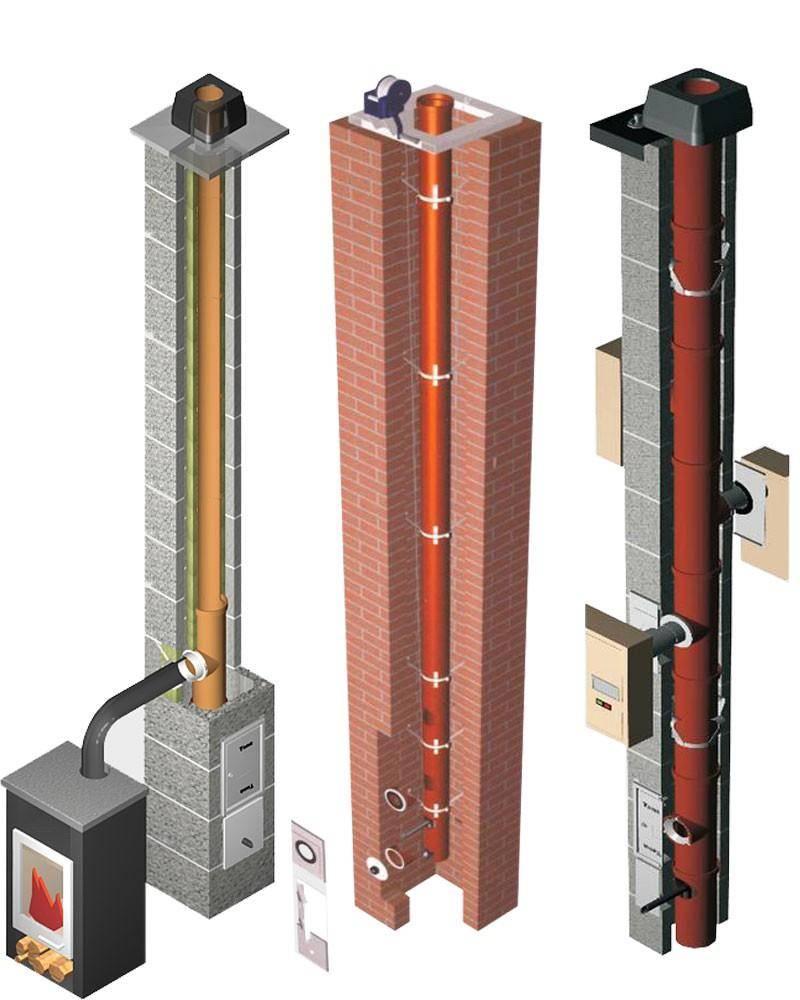Керамический дымоход: особенности конструкции, преимущества и монтаж