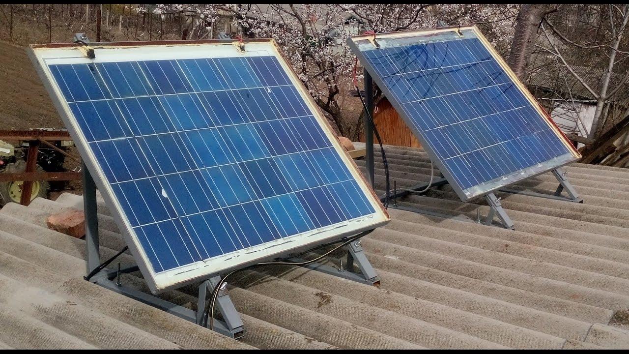 Солнечные батареи своими руками: две модели, сборка и установка