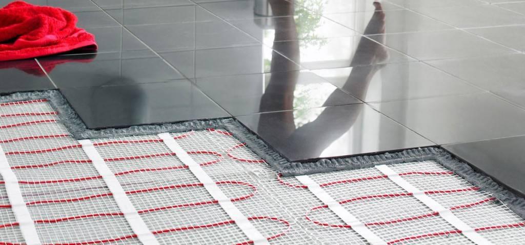 Теплый пол под керамогранит: какой выбрать - водяной, электрический или инфракрасный