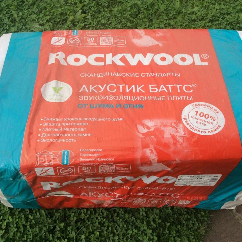 Шумоизоляция rockwool «акустик баттс»: технические характеристики