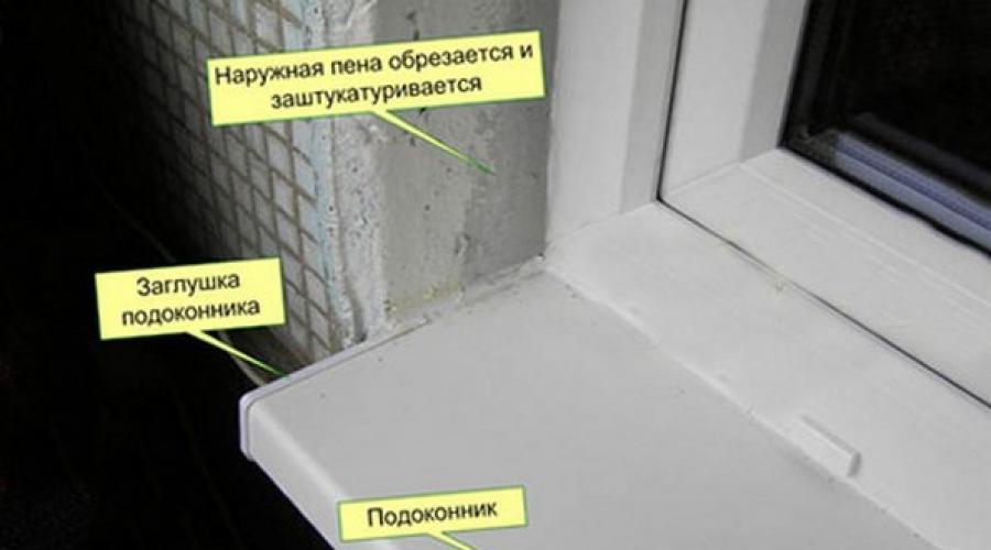 Как утеплить откосы пластиковых окон изнутри и снаружи своими руками
