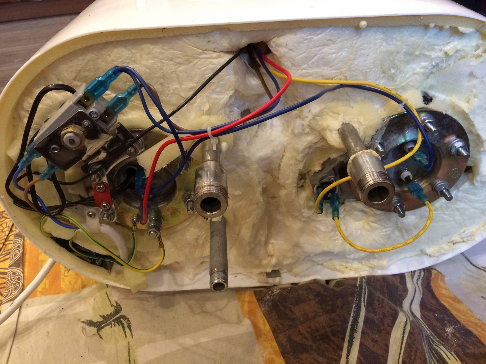Как выполнить ремонт бойлера в домашних условиях