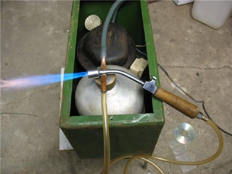 Газовая горелка для пайки своими руками - как сделать ручную горелку