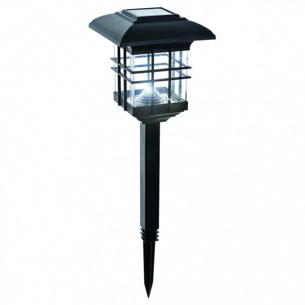 Солнечные батареи, фонари и светильники для освещения участка