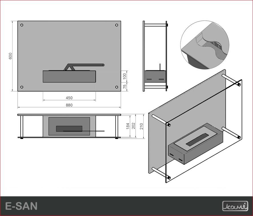 Как сделать биокамин своими руками для квартиры: устройство, размеры