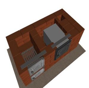Кирпичные печи для дома на дровах: модели, особенности и методы изготовления