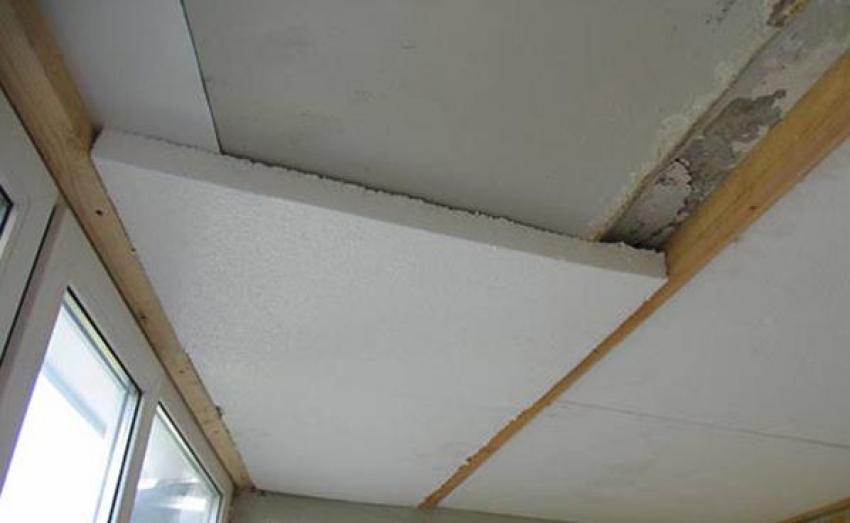 Можно ли утеплить потолок пенопластом?
