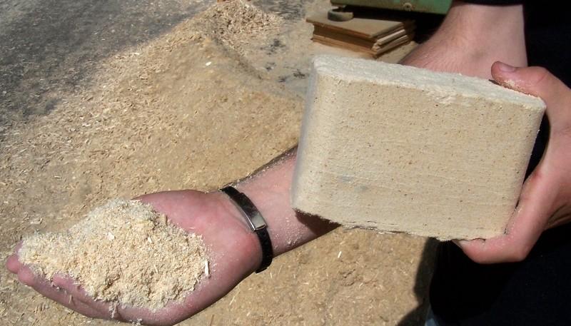 Как сделать топливные брикеты из листьев своими руками