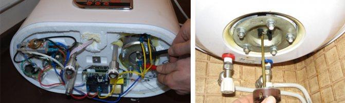 Ремонт водонагревателей аристон ariston на дому в москве и подмосковье