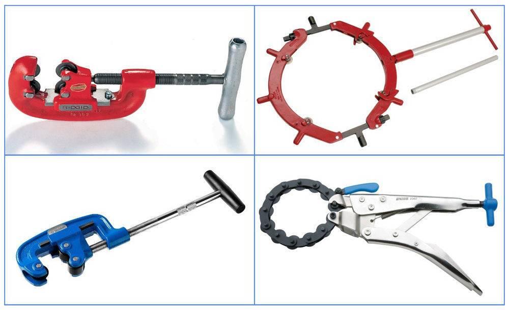 Изготовление и использование ручного трубореза для стальных труб
