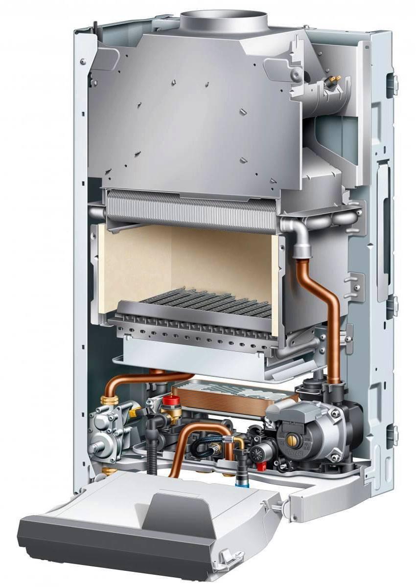 Настенный газовый котел отопления: виды и особенности одноконтурных котлов с закрытой камерой сгорания