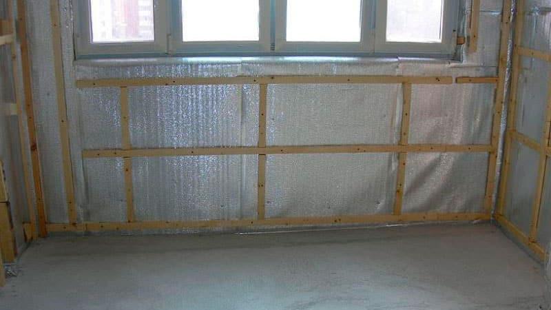 Утепление лоджии и балкона минватой изнутри: пошаговая инструкция