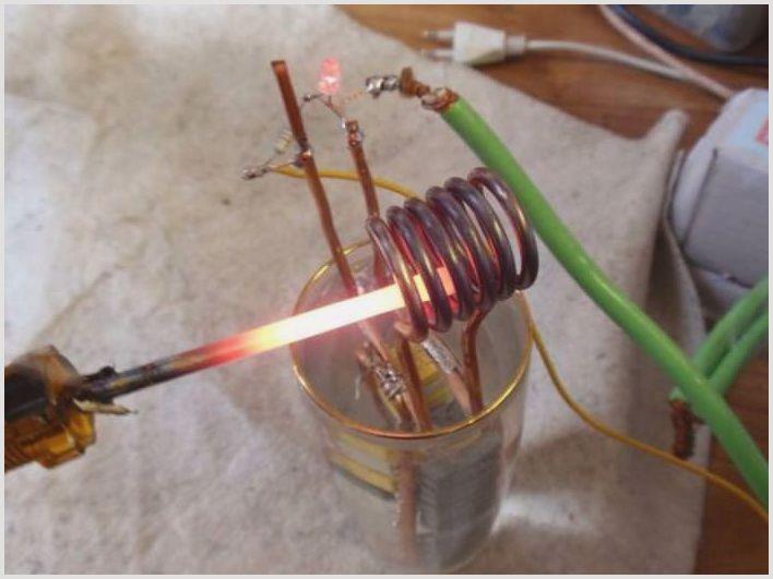 Индукционный нагреватель своими руками из сварки