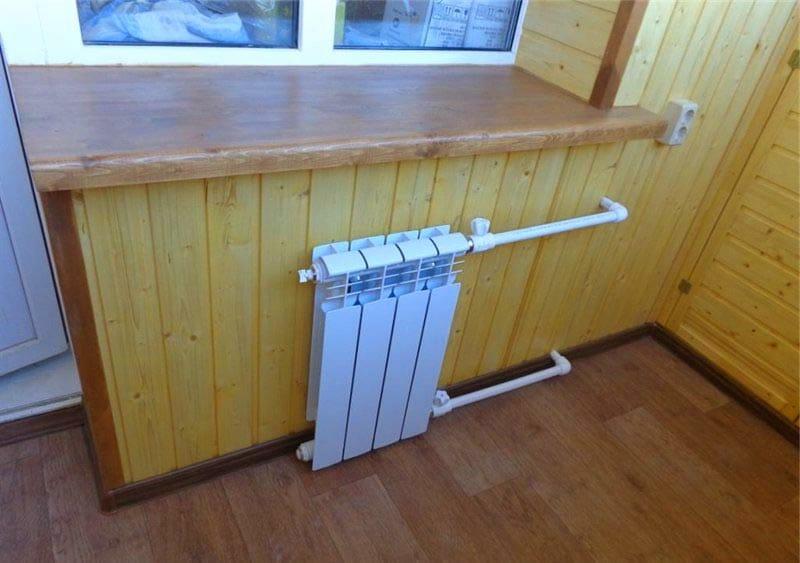 Отопление на балконе – варианты обогрева, способы проведения