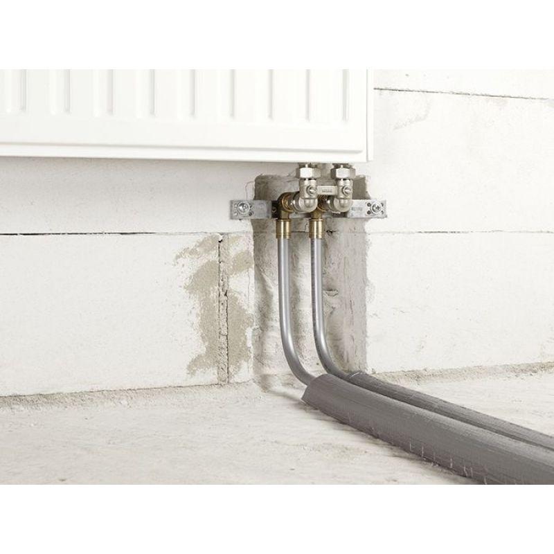 Сшитый полиэтилен для отопления: подключение радиаторов в жилом доме трубами упонор и рехау, диаметр, монтаж системы фитингами