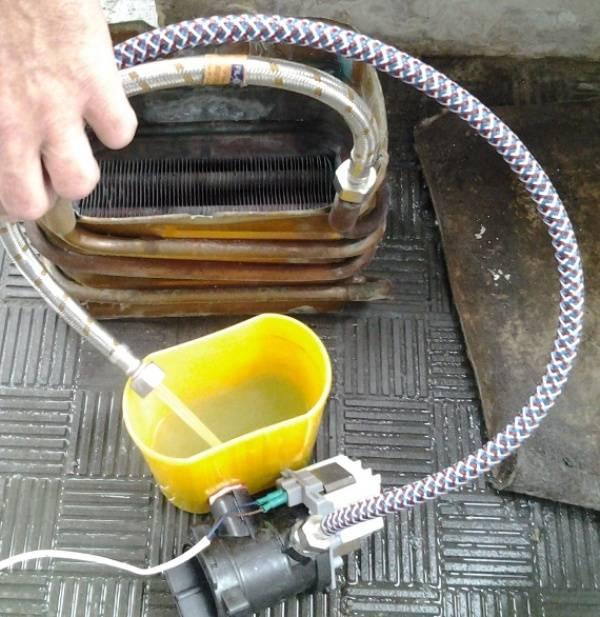 Оборудование для промывки теплообменников в Москве