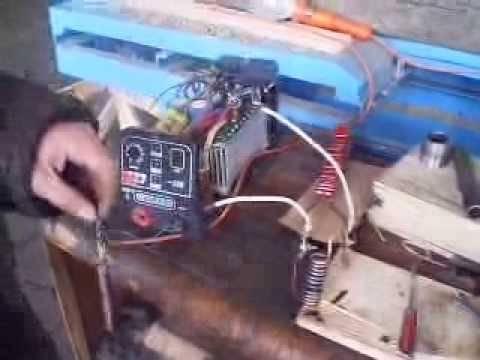 Индукционный нагреватель своими руками из сварки   все станки